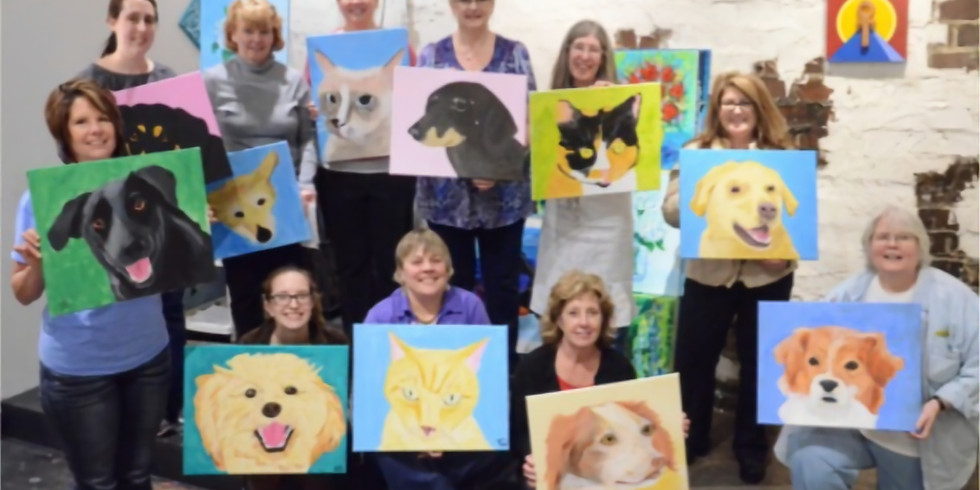 Paint Your Pet for Three Paws Animal Rescue!