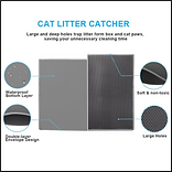 Pieviev Cat Litter Mat
