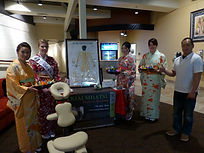beautiful girls with kimono, and Keita Ochiai, KIAI SHIATSU massage kelowna