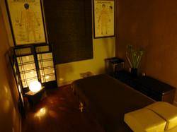 Kiai shiatsu Japanese treatment room