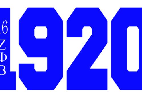 Zeta Phi Beta 1920