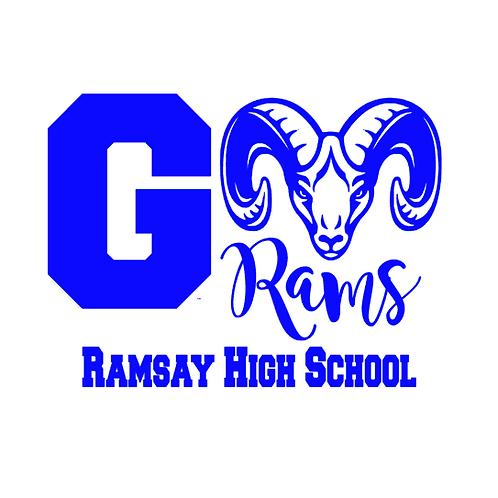 Go Rams! Ramsay High School