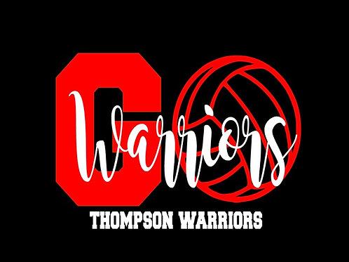 Go Warriors- Thompson Volleyball