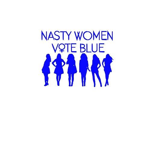 Nasty Women Vote Blue