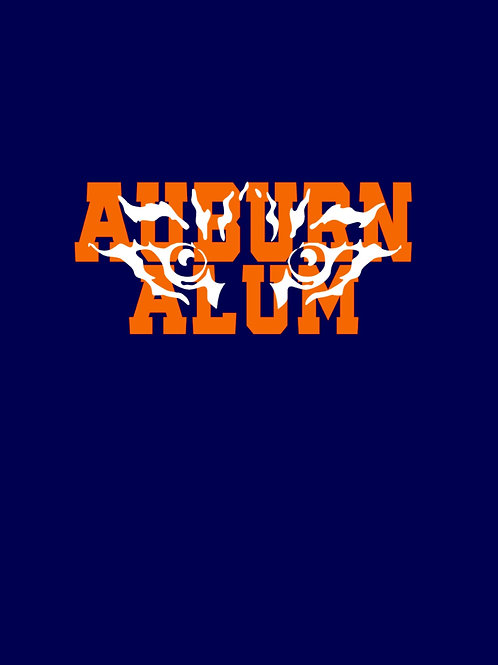 Auburn Alum w/ Eyes