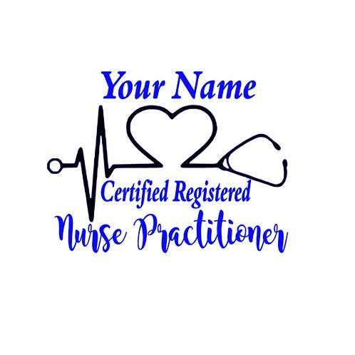 {Custom} Certified Registered Nurse Practitioner