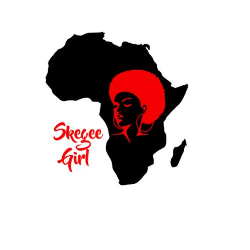 'Skegee Girl Silhouette