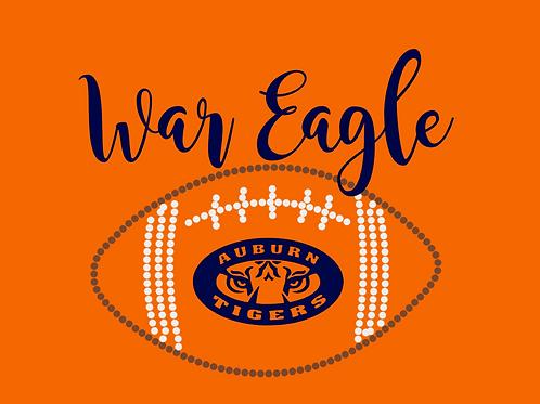 Auburn University- War Eagle Embroidery