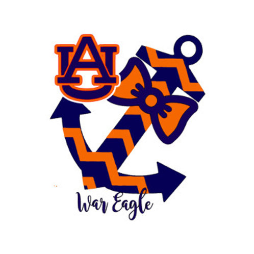 Auburn University War Eagle Anchor