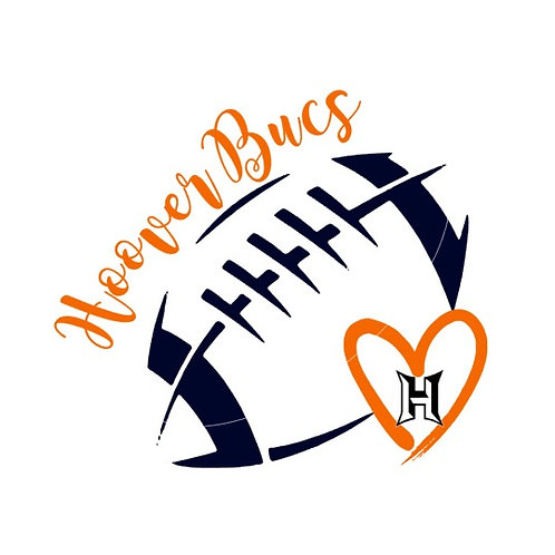 I Love Hoover Bucs Football
