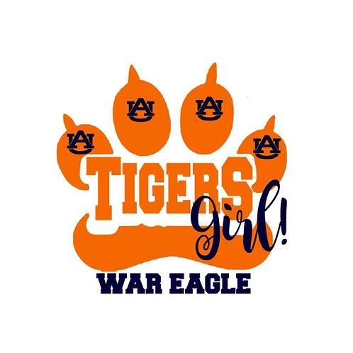 Tigers Girl- Auburn University