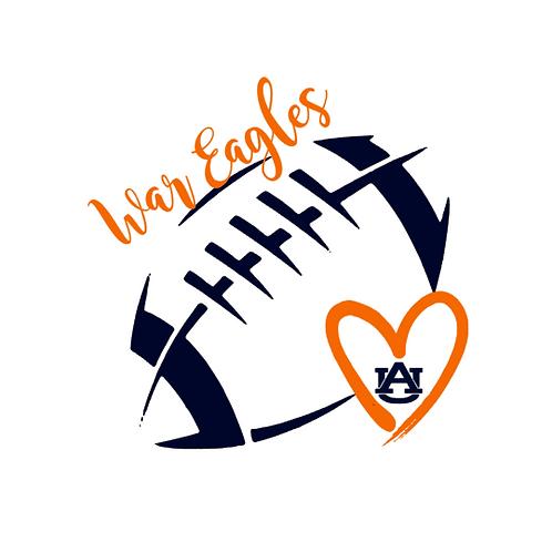 Auburn Football- War Eagle