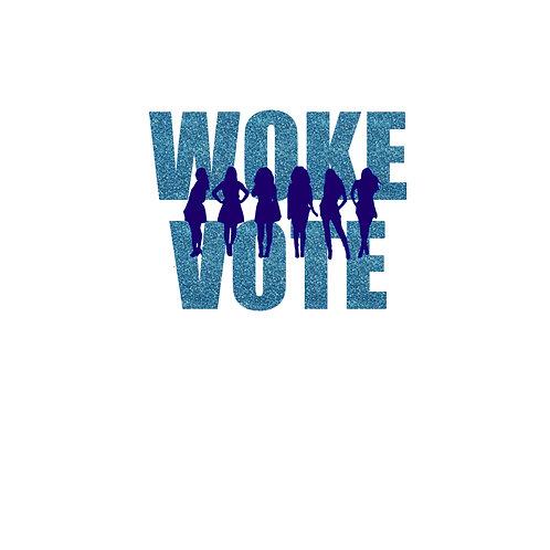 Woke Vote- Glittery