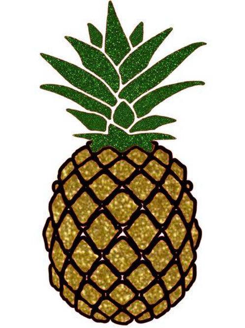 Glitter Pineapple