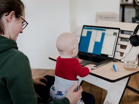 Como alcançar o sucesso como mãe e profissional trabalhando de casa