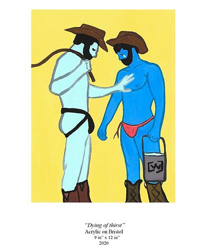 Midnight Cowboy and man