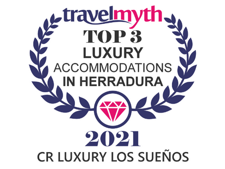 Travelmyth Luxury Accomodations Award