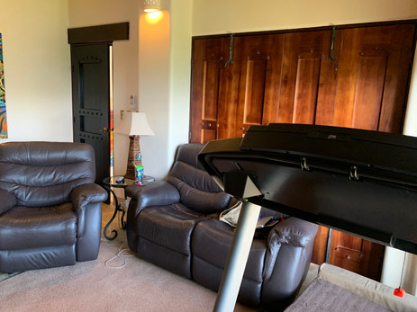 Master Bedroom Living