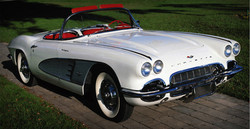 Weiß Vintage Corvette