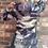 Thumbnail: Long Sleeve Camo Skull Dress Hoodie