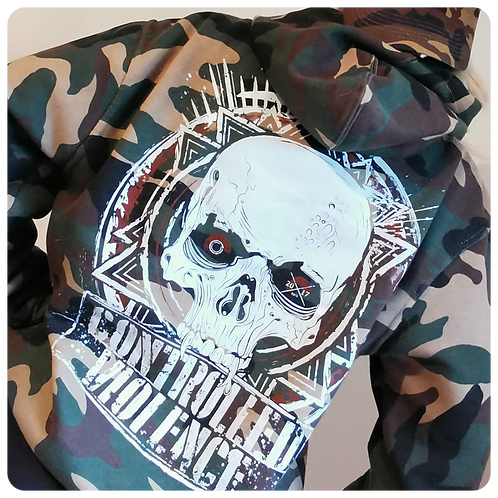 Controlled Violence Camo Hoodie