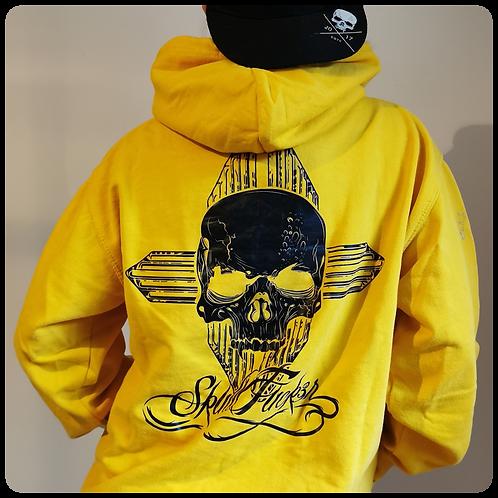OG SkullFuck3r Yellow Hoodie