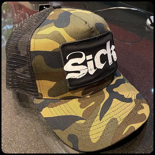 Sick Camo Patch Cap