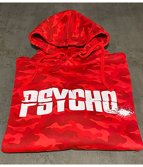 Camo Psycho Hoodie