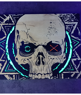 SkullFuck3r Ultra Violent Wall Art