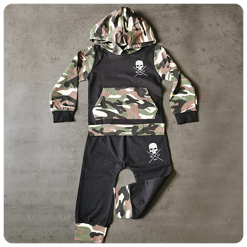 Camo Toddler Hoodie & Trousers