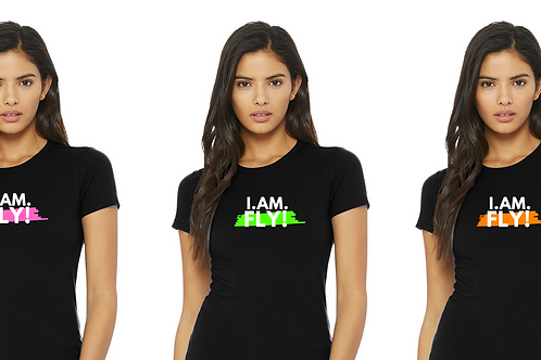 I. AM. FLY! Color Block Tee