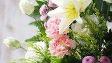 お盆:お花のご注文ありがとうございました