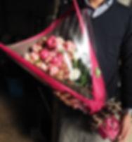 豊田市花屋グリーンピースの花束