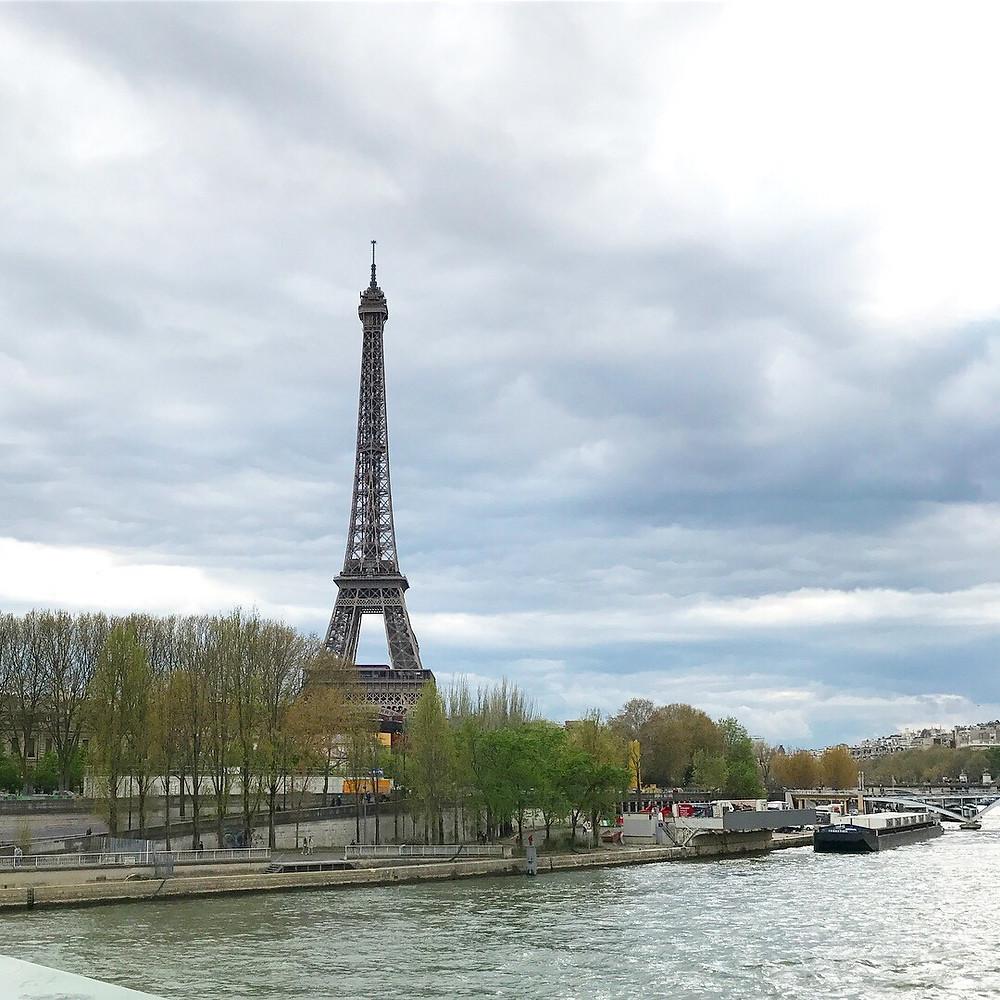 花屋のグリーンピースとうとうパリに行く