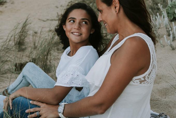 Ana e Mariana, sessão mãe e filha