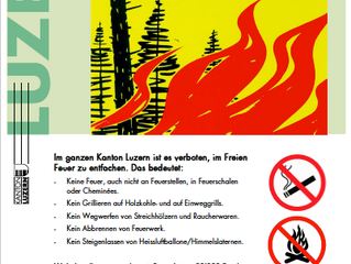 Feuerverbot betrifft auch KuBra