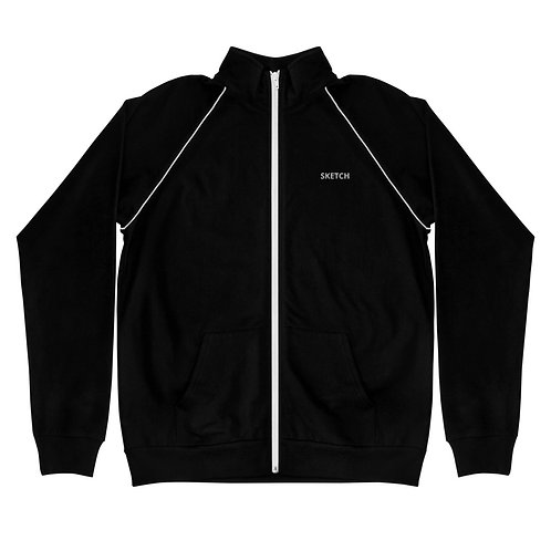 Designer Piped Fleece SKETCH Jacket