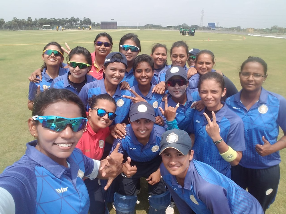 Saurashtra women's cricket team finished 5th with 4 wins in Group E at Senior Women's T20 League.