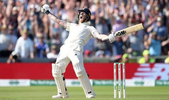 Ashes 3rd Test England vs Australia Ben Stokes hit a magnificent Century (135*) with Jack Leach