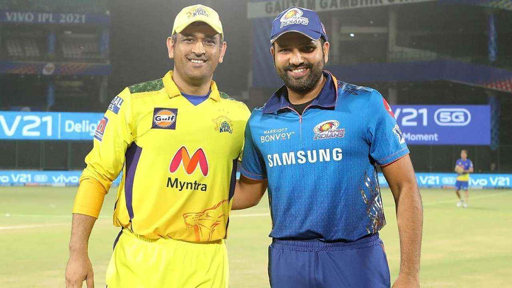IPL 2021: MIvsCSK first game of the UAE Leg of IPL 2021, Head to Head analysis of MIvsCSK.