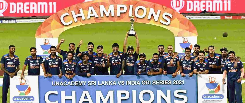 India vs Sri Lanka 3rd ODI: Team India lost 3rd ODI against Sri Lanka yet won the odi series by 2-1. India tour of Sri Lanka 2021