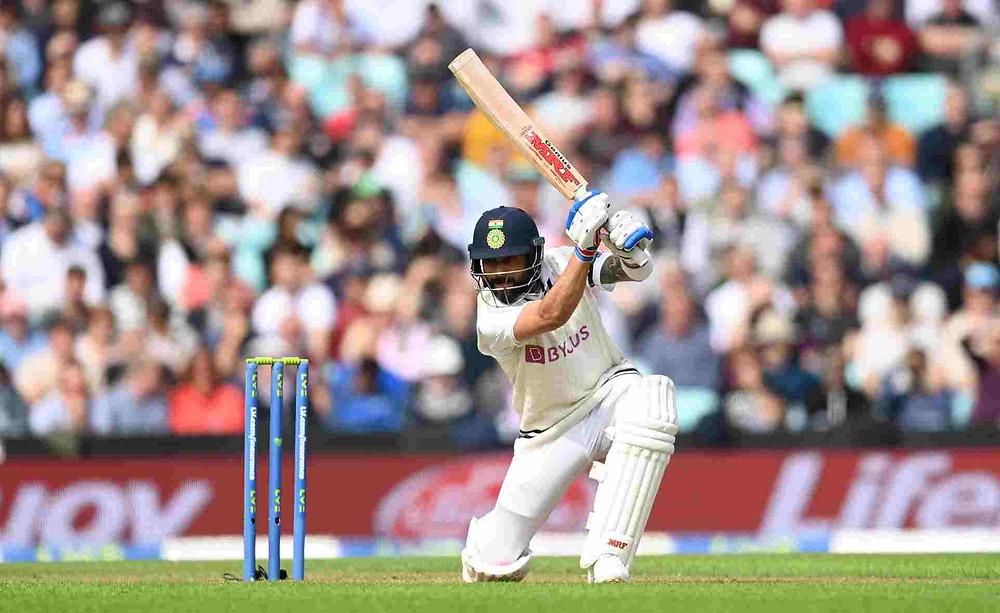 India vs England 4th Test, Oval Test: Virat Kohli completes 23000 international runs across the formats. Breaks Sachin Tendulkar's 522 innings record. Shardul Thakur hits 2nd fastest Test half-century for India.