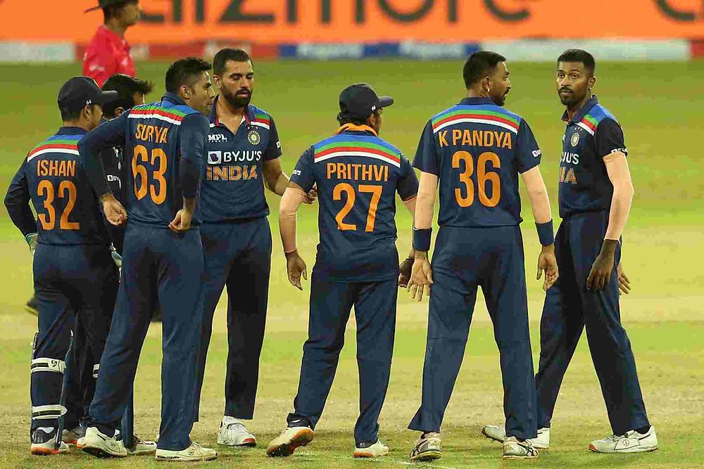 India vs Sri Lanka: Team India beat Sri Lanka by 38 runs in 1st T20I. Bhuvneshwar Kumar was chosen Man of the Match for his 4/22.
