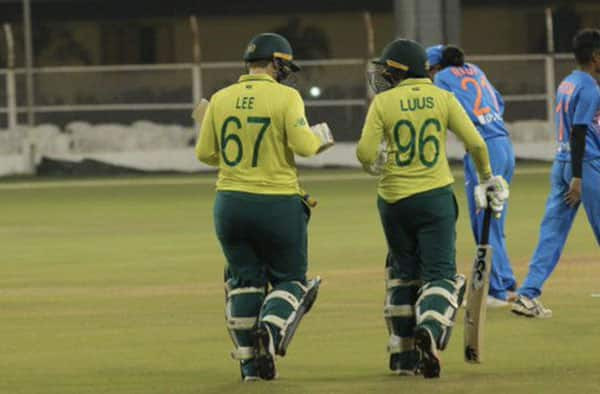 Lizelle Lee and Sune Luss hand over India women 105 runs defeat in the final T20I at Surat