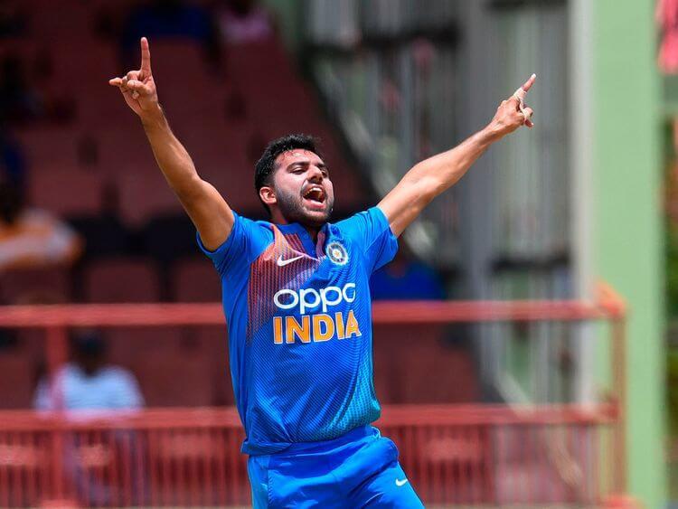 Deepak Chahar bowled his career best economical figures in T20. India vs West Indies 3rd T20