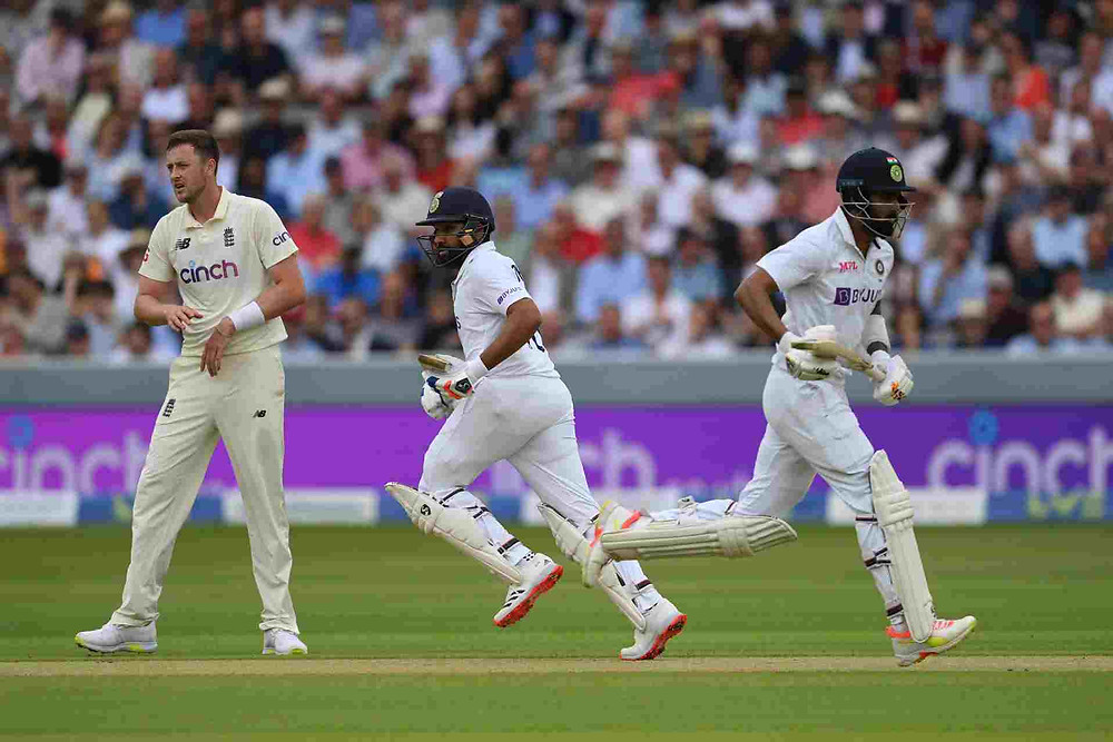 India vs England 2nd Test Day 1 Highlights: KL Rahul scores unbeaten century on Day 1, Rohit Sharma smashes fluent 83. Ind vs End 2nd Test