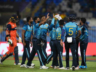 ICC T20 WC 2021 - Round 1 - SL annihilate Netherlands by 8 wickets after shooting them out for 44