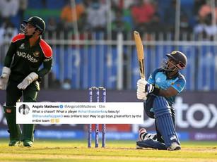 ICC T20 WC 2021 - Super 12 - Asalanka's 80*, Rajapaksa's 53 take SL home against Bangladesh