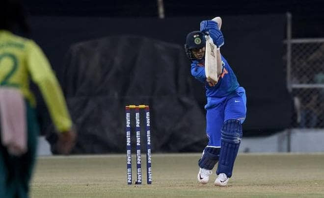 Jemimah Rodrigues scored 33 runs of 22 balls in 4th T20I at Surat. Indian Women cricket team vs South Africa