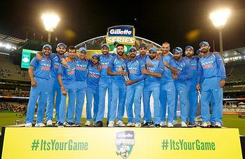 India tour Australia. Walking Wicket